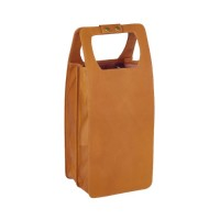 Leather Four Bottle Wine Carrier