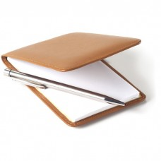 Vertical Leather Jotter