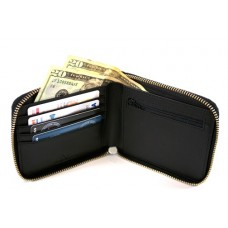 Saffiano Zip Around Wallet (Bloqueio de RFID)